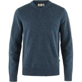 Fjällräven Övik V-neck Sweater Men navy